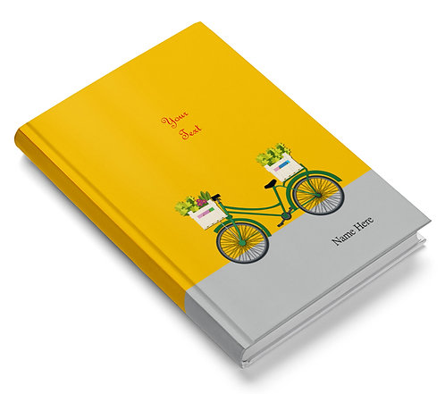 Personalized Hardbound Pasted Board NoteBook / Diary (NBHB 022)