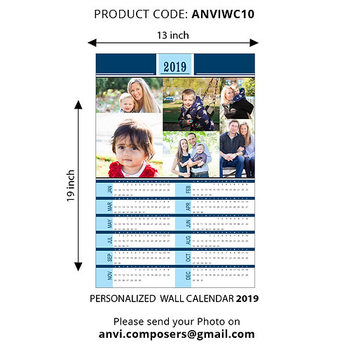 Personalized Wall Calender 10