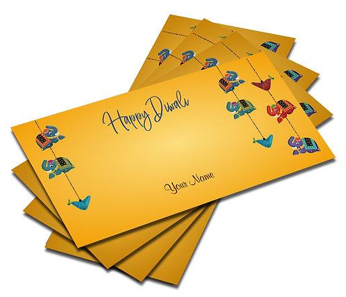 Customized / Non Customized Diwali Shagun Envelopes (06)