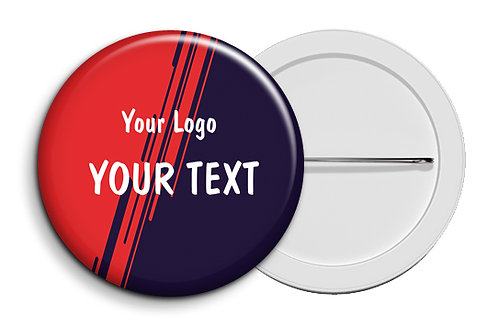 Personalized Button Badges (Pack of 20) (ButnBadge 031)