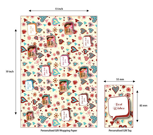 Wrapping Paper 40 (Pack of 5)