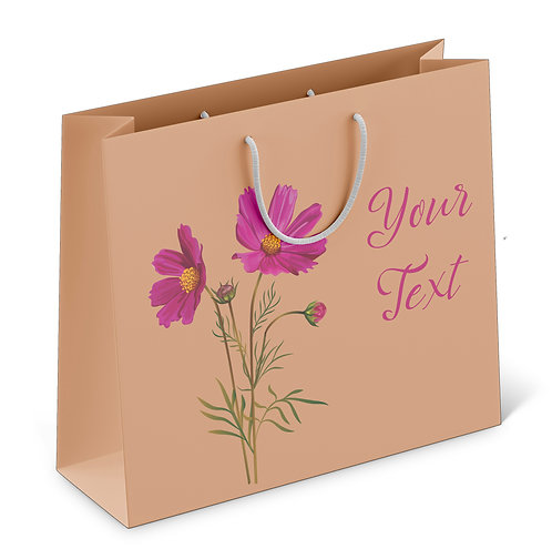 Personalized Paper Gift Bags (RBAG 007)