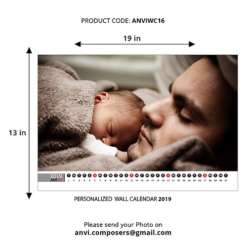Personalized Wall Calender 16