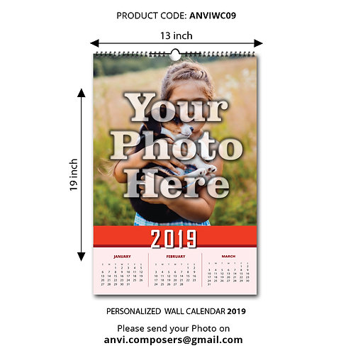 Personalized Wall Calender 09