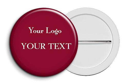 Personalized Button Badges (Pack of 20) (ButnBadge 028)