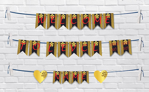Birthday Bunting Banners (BBBan 10)
