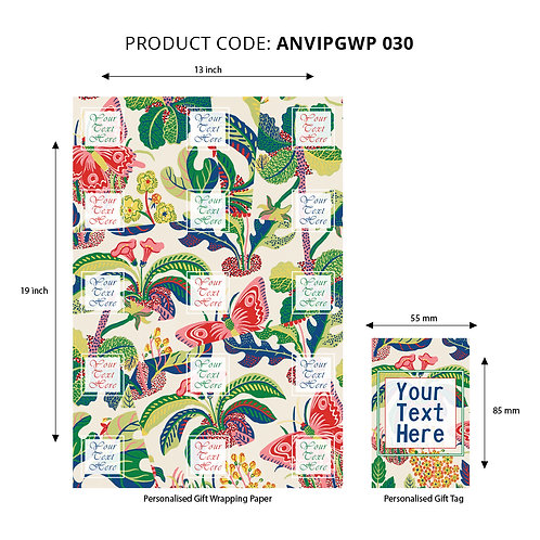 Wrapping Paper 030 (Pack of 5)
