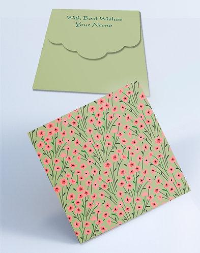 Customized Square Shagun Envelopes (SESmall 05)