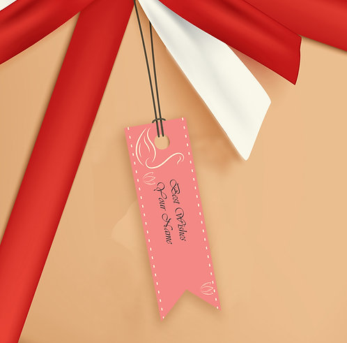 Gift Tags (Pack of 20 / 60)  (GT sh 15)