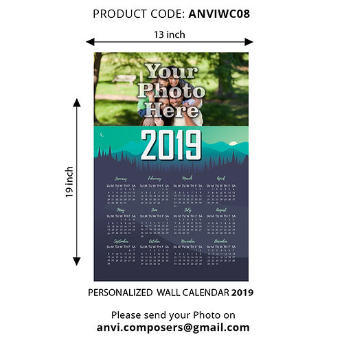 Personalized Wall Calender 08