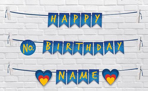 Birthday Bunting Banners (BBBan 07)