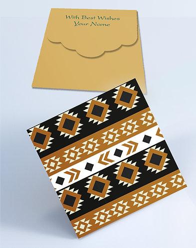 Customized Square Shagun Envelopes (SESmall 04)