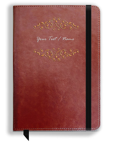 Personalized Leather NoteBook / Diary (NBLTHR 037)