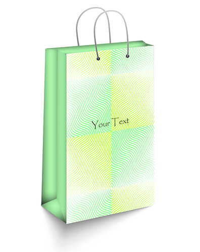 Personalized Paper Gift Bags (SBAG 014)