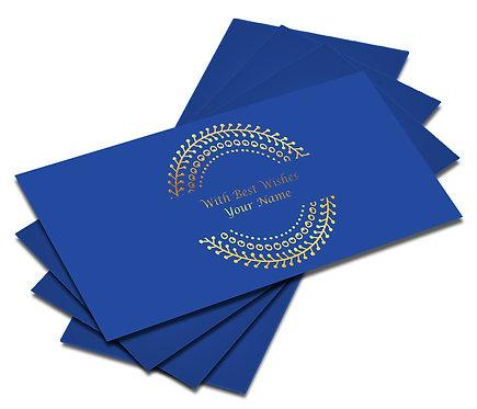 Customized Gold Foiled Shagun Envelopes