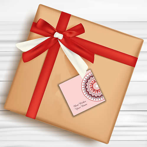 Gift Tags (Pack of 30 / 60)  (GT 04)