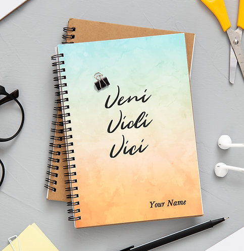 Personalized Wiro bound Planner (NBLTHR L 002)