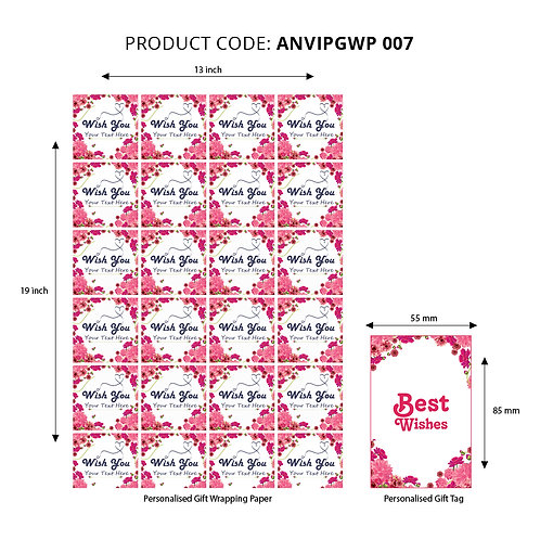 Wrapping Paper 007 (Pack of 5)