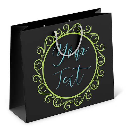 Personalized Paper Gift Bags (RBAG 005)