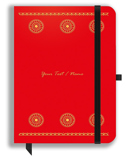 Personalized Leather NoteBook / Diary (NBLTHR 016)