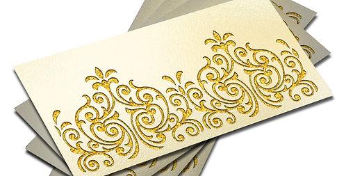 Customized / Non Customized Laser-Cut Shagun Envelopes