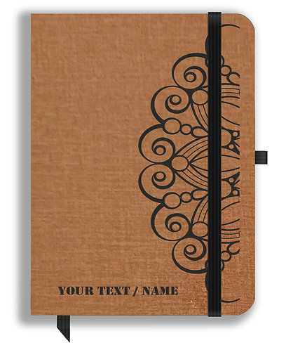 Personalized Leather NoteBook / Diary (NBLTHR 001-7)