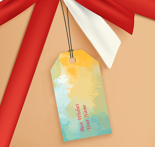 Gift Tags (Pack of 20 / 60)  (GT sh 03)