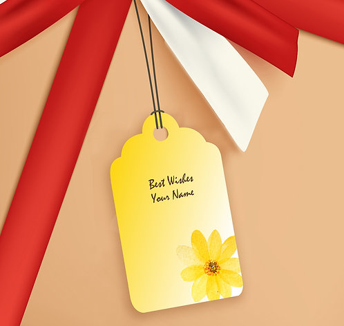 Gift Tags (Pack of 20 / 60)  (GT sh 10)