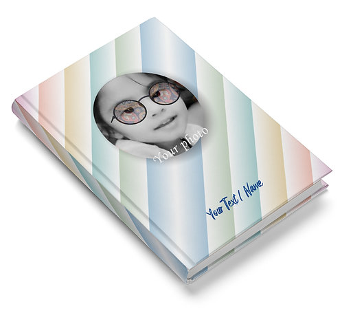 Personalized Hardbound Pasted Board NoteBook / Diary (NBHB 038)
