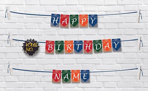 Birthday Bunting Banners (BBBan 15)