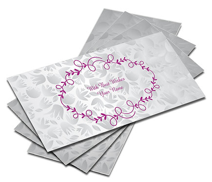 Customized Shagun Envelope on Self Design Textured paper