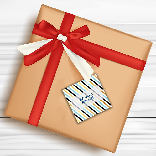 Gift Tags (Pack of 30 / 60)  (GT 11)
