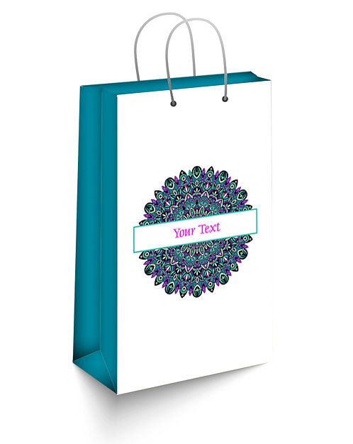 Personalized Paper Gift Bags (SBAG 013)