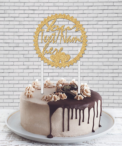 Cake Topper (CT Gold 04)