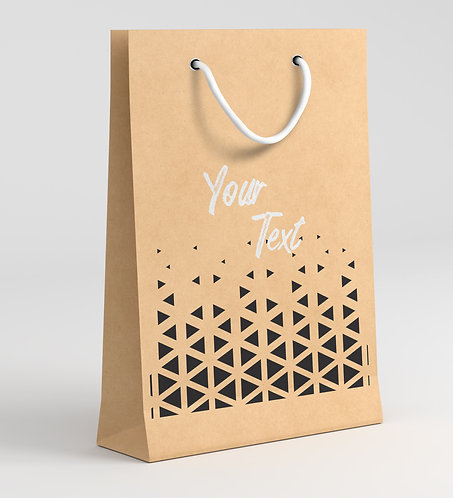 Personalized Paper Gift Bags (RBAG 001)