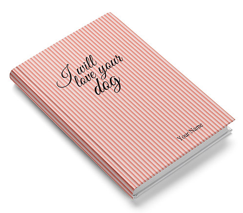 Personalized Hardbound Pasted Board NoteBook / Diary (NBHB 003)