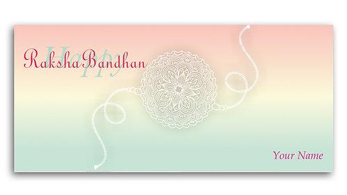 Customized / Non-Customized Rakshabandhan Shagun Envelopes