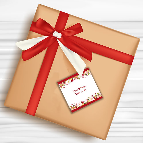 Gift Tags (Pack of 30 / 60)  (GT 10)