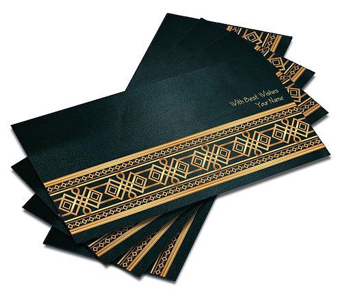 Shagun Envelope on Blue Satin paper(Pack of 10) SESATIN BLUE 003