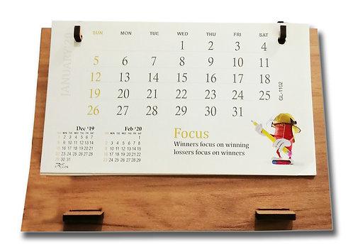 Personalized Desk Calendar MDF 010
