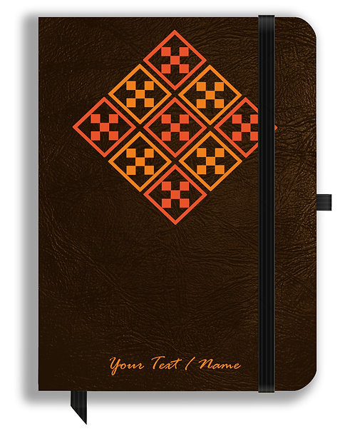 Personalized Leather NoteBook / Diary (NBLTHR 025)