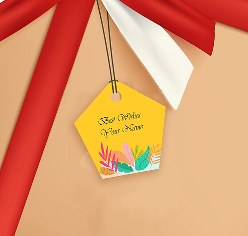 Gift Tags (Pack of 20 / 60)  (GT sh 20)