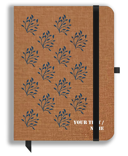 Personalized Leather NoteBook / Diary (NBLTHR 001-21)
