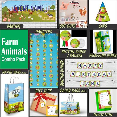 Farm Animal Theme Combo (PS Combo 3)