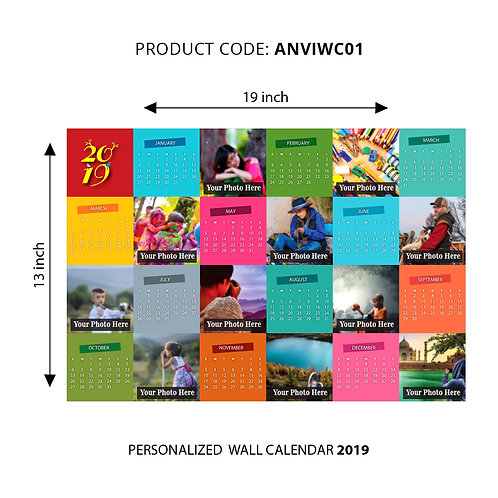 Personalized Wall Calender 01