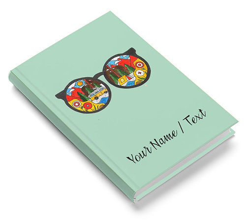 Personalized Pasted Board Notebook / Diary (NBHB 056)