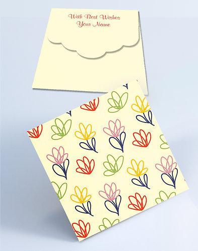 Customized Square Shagun Envelopes (SESmall 17)