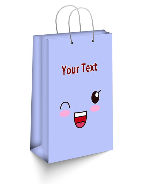 Personalized Paper Gift Bags (SBAG 004)