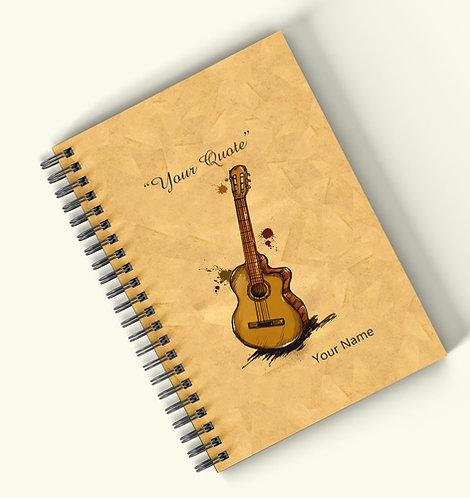 Personalized Hardbound Wiro / Spiral NoteBook / Diary (NBHB Wiro 012)