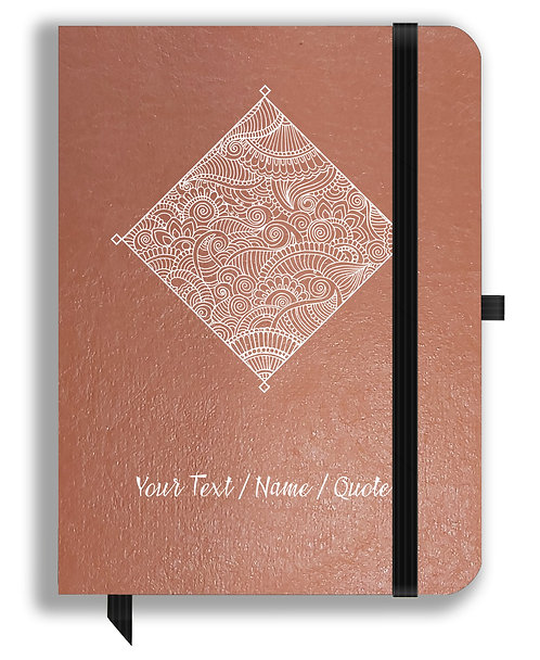 Personalized Leather NoteBook / Diary (NBLTHR 028)